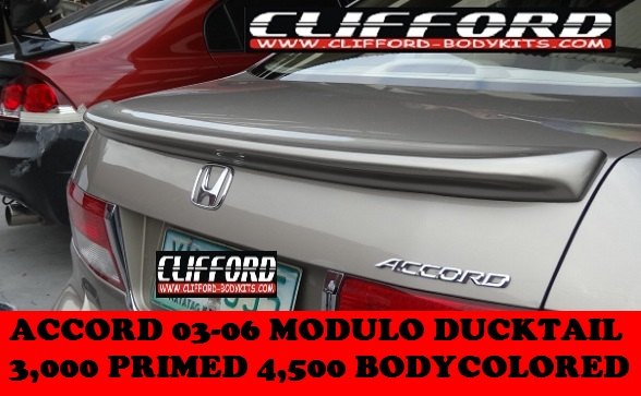 DUCKTAIL SPOILERS ACCORD 2003-2005