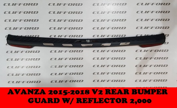 REAR BUMPER GUARD AVANZA 2012-2018