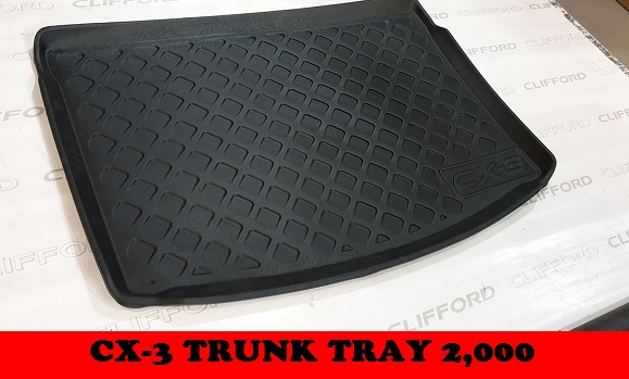 TRUNK TRAY CX3