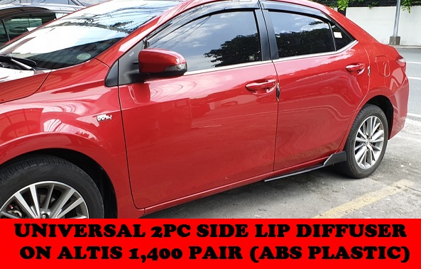 UNIVERSAL SIDE LIP ON ALTIS 2014-2019