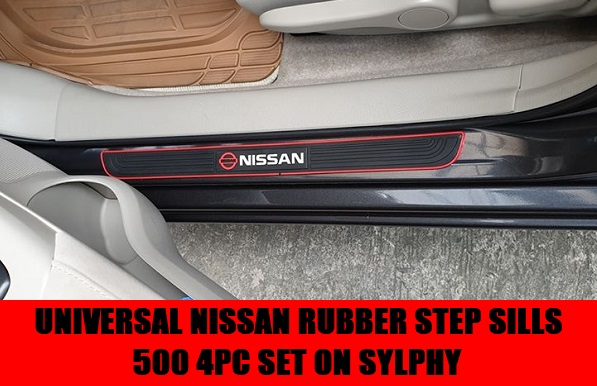 UNIVERSAL RUBBER STEP SILLS ON ALMERA