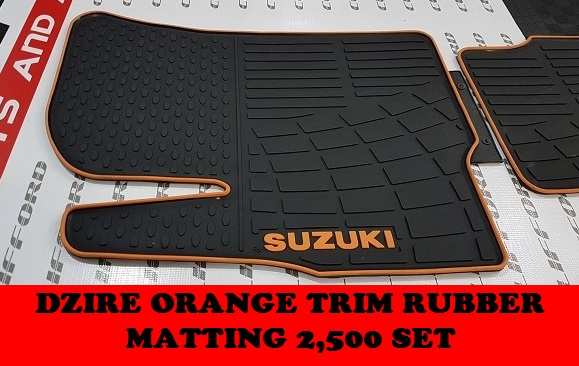 DZIRE RUBBER MATTING