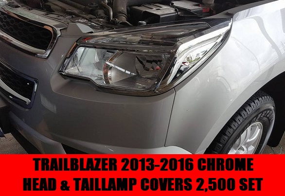 CHROME TRIMS TRAILBLAZER
