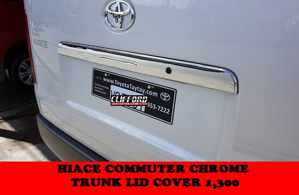 TRUNK TRIM SHORT COMMUTER 2005-2018