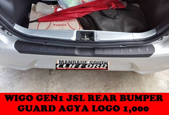 REAR BUMPER GUARD WIGO GEN1 JSL
