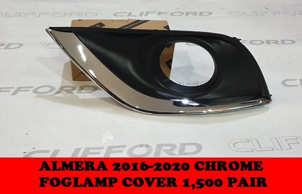 CHROME FOGLAMP COVERS ALMERA