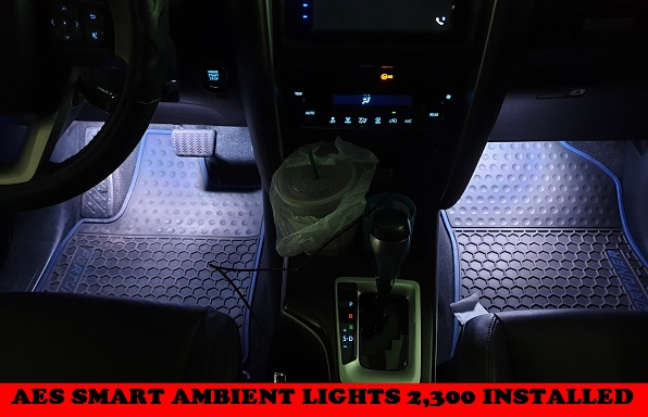 AMBIENT LIGHT FORTUNER 2016-2020
