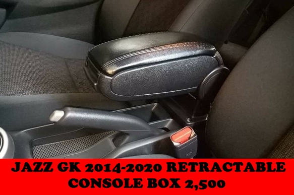 RETRACTABLE CONSOLE BOX JAZZ GK 2014-2020