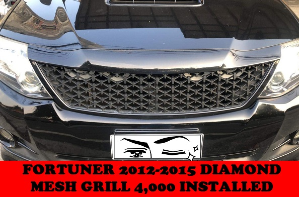 DIAMOND MESH GRILL FORTUNER 2012-2015