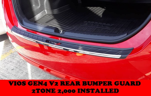 REAR BUMPER GUARD VIOS GEN4 2018-2020