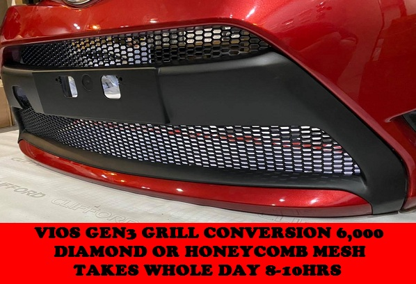 GRILL CONVERSION VIOS GEN3
